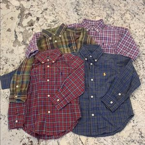 Lot of polo button downs